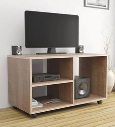 Buy Modern TV Cabinets Online: Choose from a wide variety of modern tv cabinet and tv unitdesigns as in India at best prices. Tv Cabinets, Smart Design, Modern Design, Tv Unit Design, Tv Design, Modern Tv Cabinet, Modern Tv Units, Rack Tv, Tv Storage