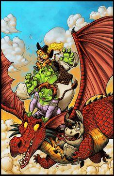 Shrek+Free+Comic+BD+Cover+by+RoloMallada.deviantart.com+on+@DeviantArt
