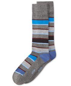 Alfani Men's Pop Stripe Socks, Only at Macy's