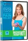 Massage Therapy Instruction DVD for upper body and neck using tennis type balls.