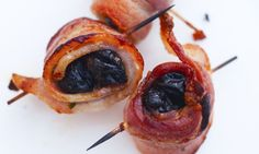 my fave version is stuffed with garlic,  wrapped in bacon, & served with a peppery honey demi-glaze