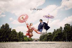 DATE OF JAPAN*at京都御苑 |*ウェディングフォト elle pupa blog*