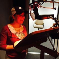 LIsa Biggs, a professional voice over artist, volunteers to read for Learning Ally, a non-profit helping students who have print disabilities. Voice Actor, Volunteers, The Voice, Lisa, Students, Actors, Learning, Artist, People