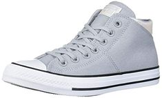 Converse Women's Chuck Taylor All Star Madison Mid Top Sneaker Latest Sneakers, Classic Sneakers, Sneakers Fashion, High Top Sneakers, Fashion Shoes, Converse Chuck Taylor All Star, Converse All Star, Sneaker Stores, Chuck Taylors