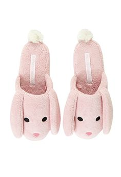 Cute, pink bunny slippers made from soft coral fleece to provide supreme softness, comfort and warmth to keep toes cosy. These scuff style slippers will perfectly complete any PJ set. Bunny Slippers, Cute Slippers, Pajamas All Day, Cute Pajamas, Good Night Sweetheart, Bed Socks, Alice In Wonderland Tea Party, Soft Corals, Satin Pajamas