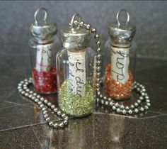Cutest message in a bottle necklaces EVER!