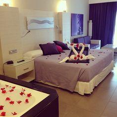 Bubble Bath - Riu Palace Bavaro - Honeymoon room - Punta Cana - Dominican Republic