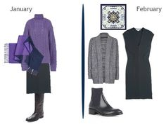 A Femme d'Un Certain Age: Seasonless, Sleeveless, Sensational { month-by-month view of a navy dress}
