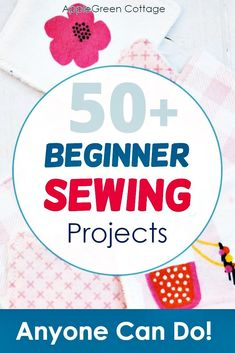 More than 50 free beginner sewing projects with free sewing patterns that are quick and easy to sew even if you are a sewing beginner. From easy pouch patterns, face wipes, cosmetic pads, coasters, hair bows and scrunchies, through free pencil case patterns, eye glass pouches, diy card wallet, a crayon roll, things to sew for home, curtains, easy pillowcase tutorial, mop pads, easy placemats, all the way to easy toy sewing projects and more. #freepatterns #beginnersewing #easypatterns… Baby Sewing Projects, Sewing Projects For Beginners, Felting Tutorials, Craft Tutorials, Sewing Patterns Free, Free Sewing, Easy Hair Bows, Pencil Case Pattern, Pillowcase Tutorial