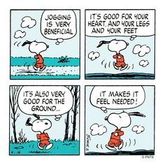 """PEANUTS on Twitter: """"Making the ground feel needed … """""""