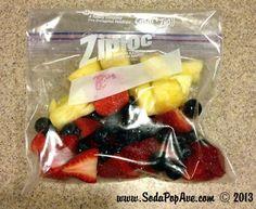 Pre-Made Freezer Smoothies