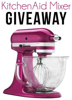 Pink Kitchen Aid Giveaway PLUS a $100 Amazon Gift Card