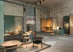 Furniture, ceramics and glassware by Norwegian designers were collected together for an exhibition to show the country's contribution to Scandinavian design