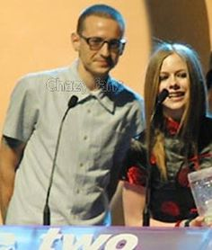 Chester Bennington & Avril