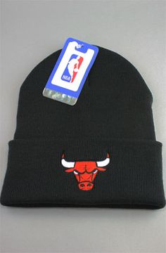 Vintage Deadstock Chicago Bulls Beanie (Black) Brand  NBA Original Tags NBA  Licensed All Vintage Deadstock products are guaranteed to be brand new 674e2e66698d
