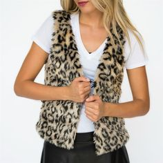 Faux Fur Vests | 3 Styles! | Shop women's boutique clothing deals for up to 80% off on Jane.com!