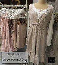 Jeanne d'Arc Living- True Believes Dress , Clothing - Jeanne d'Arc Living, Vintage Market And Design  - 7