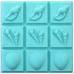 3-Shells Tray Mold | Bramble Berry® Soap Making Supplies