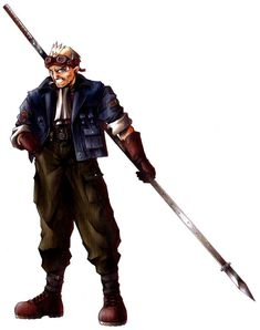 Cid Highwind Character Art - Final Fantasy VII Art Gallery Cid Highwind Character Art from Final Fantasy VII Final Fantasy Vii, Artwork Final Fantasy, Final Fantasy Characters, Video Game Characters, Fantasy Series, Game Character Design, Character Art, Manga Anime, Tetsuya Nomura