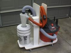 Shop Vac Cart with casters - possible use of my material (cast polyamide which I can produce) for the casters