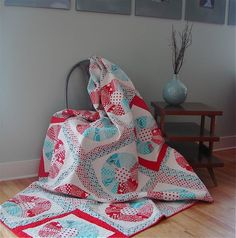 Dresden quilt ~ I really need to learn how to do this!
