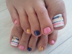 cute easy nail designs for toes Cute Easy Nail Designs 2014
