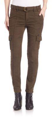 Shop Now - >  https://api.shopstyle.com/action/apiVisitRetailer?id=538755904&pid=uid6996-25233114-59 Joie Surplus Twill Skinny Cargo Pants  ...