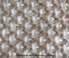 Tunisian moss stitch  is made by alternate between Tss= tunisian simple stitch  and tunisan purl stitch , done in 2+1...nice thank you