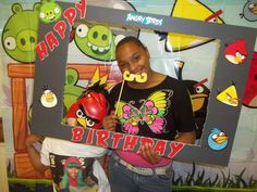 Angry Birds Knock Down | CatchMyParty.com