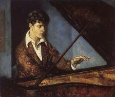 Ludwig von Lonquich (Leo Ornstein, lukisan oleh Leon Kroll; www.wikimedia.org)