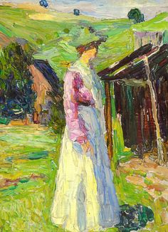 Wassily Kandinsky (1866-1944) Kochel-Gabriele Münter