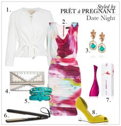 Styled by Prêt à Pregnant: Date Night - Chic and stylish mommy night time look