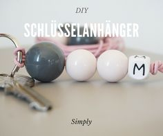 My and your Face : DIY - Schlüsselanhänger #1