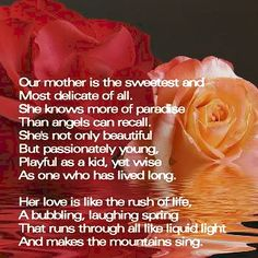 Religious Mother's Day Poems