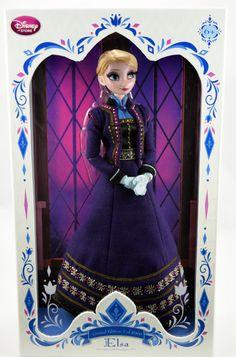 2015 Limited Edition Elsa Doll - Frozen - US Disney Store Purchase - Boxed - Full Front View Disney Barbie Dolls, Barbie Fashionista Dolls, Disney Princess Dolls, Frozen Elsa And Anna, Disney Frozen Elsa, Disney Babys, Baby Disney, Princesa Ariel Disney, Dessin My Little Pony