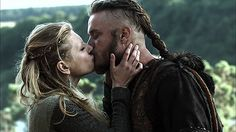 Ragnar Lodbrok (d.840/65) courted the warrior woman Lagertha from afar. Lagertha played hard to get when Ragnar arrived to seek her hand, setting a bear & a great hound that she kept to guard her home upon him; Ragnar killed both. Thus she deemed him worthy of her hand in marriage. According to Saxo Grammaticus, Ragnar had a son with her, Fridleif, as well as 2 daughters.