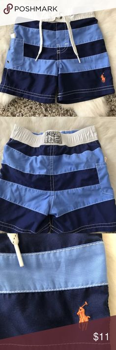 Polo Ralph Lauren Baby Boy Swimwear Short Pant Polo Ralph Lauren Baby Boy Swimwear Short Pant Sz 9M  Type: Baby Boy Swimwear  Style: Baby Boy Short Pant  Brand: Polo Ralph Lauren  Material: Polyester  Color: Blue, White  Condition: Pre-owned. Please check the condition of the item on the pictures for more details. Pet and smoke free. Polo by Ralph Lauren Swim