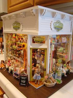 My miniature Powells sweet shoppe 1:12 | Flickr - Photo Sharing!