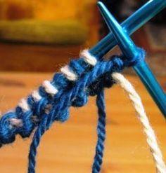 Winter Foliage: Double Knitting Tutorial - Part Knitting Help, Double Knitting, Knitting Stitches, Knitting Yarn, Knitting Basics, Manta Crochet, Knit Or Crochet, Double Crochet, Stitch Patterns