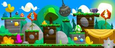 Forest Game Art on Behance