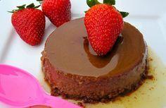 Flan au chocolat Weight watchers, une recette simple et facile à réaliser un dessert parfait au chocolat pour 4 personnes.