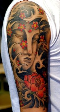 TATTOO BUDDHA BY THE RED PARLOUR NYC QUEENS NY