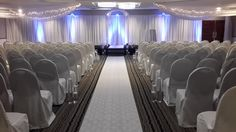 For a more private wedding ceremony, our ballroom is a great option!