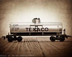 Toy Train Print Texaco Tanker One Photo Print By Shawnstpeter