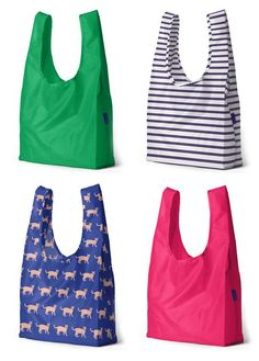 A strong, stylish bag for toting around nearly anything: groceries, gifts, laundry, you name it. Ultra lightweight but strong – it holds up to 50 pounds. Reusable Shopping Bags, Reusable Bags, Tote Bags, Fabric Bags, Brown Bags, Recycled Fabric, Green Bag, Rain Wear, Cotton Bag