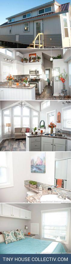 The Stillwater park model home: 1 bedroom, 1 bath