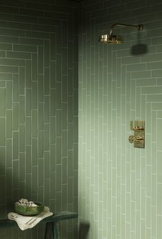 Buy our Oska Jungle Green Matt Porcelain Tile to add gorgeous, muted green tones to your kitchen or bathroom. View this matt porcelain brick tile online! Mandarin Stone, Ceramic Wall Tiles, Porcelain Tiles, Ceramic Pottery, Terrazzo, Brick Tiles, Cement Tiles, Outdoor Tiles, Tile Stores