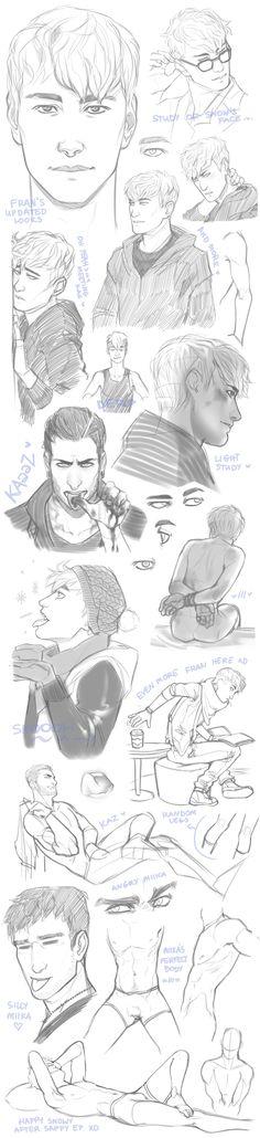 Sketch Dump 09 by Rejuch on DeviantArt
