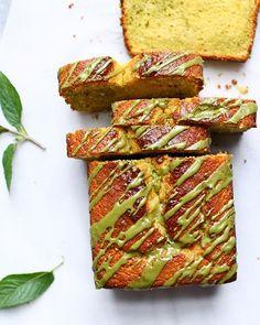 Lemon Poppy Seed And Matcha Swirl Bread