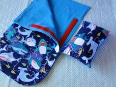 Check out this item in my Etsy shop https://www.etsy.com/listing/248678795/shark-doll-sleeping-bag-set-handmade